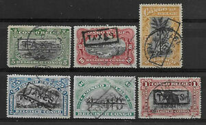 "Congo - Postage Due - 1910 - Handstamped ""TAXES"" - Used -"