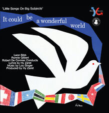 Hy Zaret / Lou Singe - It Could Be a Wonderful World [New CD]