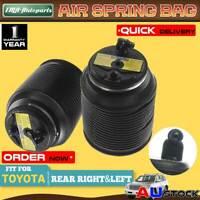 2x Rear Left Right Air bag Springs for Toyota Landcruiser Prado 120 Series 03-09