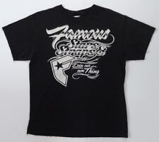Famous Stars and Straps T Shirt Mens Medium M Faded Black 100% Cotton S/S