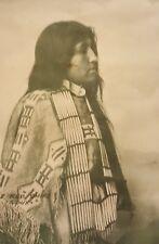 Framed Native American Portrait F. A. Rinehart  'Annie Red Shirt Sioux Indian'