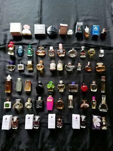 Parfüm Miniaturen, Mini Flakon, Sammlung, Konvolut, 50 Stück, gebraucht