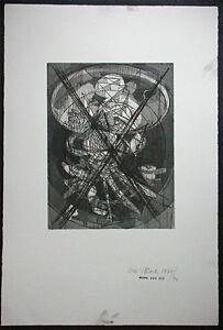 DIETER ROTH, Original Radierung 1977/92, handsigniert, Komposition V