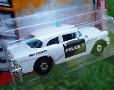 **ERROR CAR** 1956 BUICK CENTURY POLICE Car MBX Heroic Rescue NEW In SEALED Pack