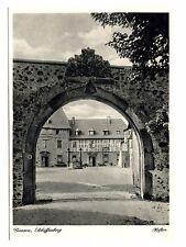 Giessen Schiffenberg Hoftor Germany Postcard Vintage Kupfertiefdruck Bruhaka