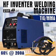TIG 200 Ampere HF-Zündung Inverter Schwei�Ÿgerät WIG/MMA Schwei�Ÿgerät+ Zubehör
