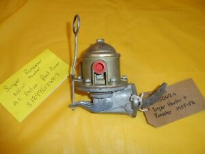 SINGER HUNTER AND ROADSTER 1955-56 NEW AC DELCO FUEL PUMP