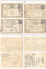 CPA précurseur Paris Juillet & Septembre 1877 lot 476