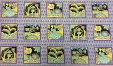 Fabric Freedom - Deco Dreams Panel - Purple - 100% Cotton Fabric