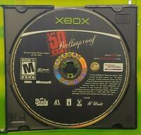 50 Cent Bulletproof -  Original OG Microsoft Xbox Game Tested + Working