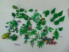 LEGO Trees Branches Bushes Flowers Shrubs etc and 1960's Tree Lot 24510