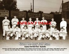 Rare Grand Ole Opry Ball Team Photo Sulphur Dell Park Nashville Collectors L@K