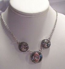 New Style Button Snaps Statement Necklace - Fits Ginger Brands - D2