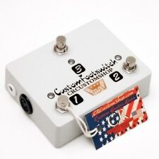 CR® CUSTOM 3 BUTTON FOOTSWITCH FOR MESA BOOGIE F100 AMPLIFIER HANDWIRED USA NEW