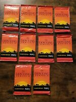 DISNEY SKYBOX THE LION KING SERIES 2 COLLECTOR TRADING CARDS PACKS LOT of 10