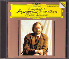 Krystian Zimerman: Schubert 8 Impromptus d.899 op.90 & d.935 op.142 CD Impromptu