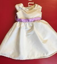 American Girl Fancy Occasion Dress Special Dressy Jr. Bridesmaid Communion MYAG