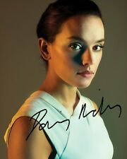 DAISY RIDLEY #1 10x8 PRE PRINTED LAB QUALITY PHOTO PRINT - Free Delivery