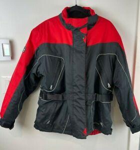 Misty Mountain Technical Outerwear Jacket Women's Coat Waterproof Black/Red