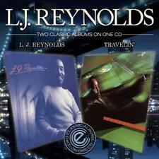L.J REYNOLDS LJ Reynolds / Travelin NEW & SEALED 80s SOUL CD (EXPANSION) R&B