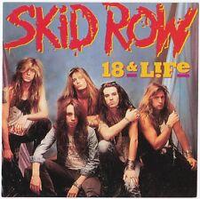 SKID ROW       Sticker  carré  édité dans les années 1990