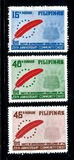 Philippines 1239-1241,MNH.Michel 1109-1111. Community Chest.Red Feather Emblem.