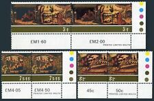Malta B20-B22 pairs,MNH.Michel 518-520. Christmas 1975 Painter Maestro Alberto.