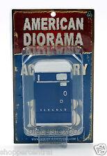 American Diorama - Vending Machine 1:18 Scale (Blue)