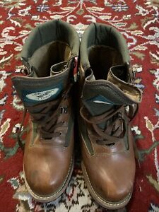 LL Bean Men's Fly Fishing Angler Wading Boots Leather Size 11