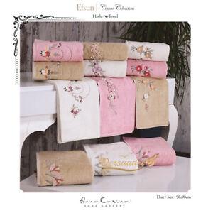 Towel Set Efsun 6er Collection Exclusive Havlu Seti Gift Box
