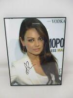 Signed Mila Kunis Photograph