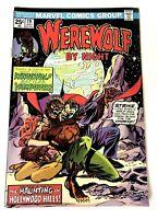 Werewolf By Night #19 Vs Dracula 1974 7.5 VF-Grade Bronze Age Marvel Comics