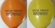 5 LETS PARTY BITCHES BALLOONS - BIRTHDAY LATEX BALLOON ADULT RUDE FUNNY