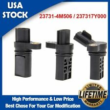 3PCS Camshaft Crankshaft Position Sensor For Nissan Frontier NV2500 4.0/5.6L V6