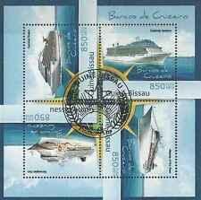 Timbres Bateaux Guinée Bissau 4614/7 o année 2012 lot 19324 - cote : 18 €