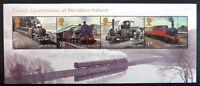 GB 2013 Commemorative Stamps~Locomotives Ireland~ M/S~Unmounted Mint Set~UK