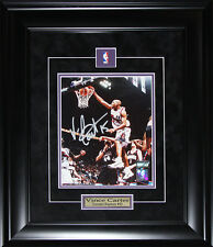 Vince Carter Toronto Raptors Signed 8x10 NBA Basketball Collector Frame