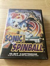 Sega Mega Drive, Sonic Spinball, 16-bit, Pal, Completo,