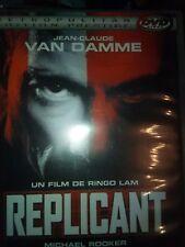 DVD REPLICANT de RINGO LAM avec JEAN-CLAUDE VAN DAMME, CATHERINE DENT.