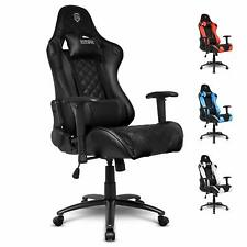 EMPIRE GAMING Chaise Gamer Racing 700 Series Noir Ergonomique inclinable Bureau