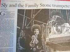 1944-2015 CYNTHIA ROBINSON OBITUARY SLY AND THE FAMILY STONE TRUMPETER