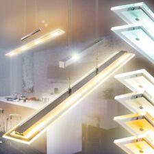 Lampe à suspension LED Plafonnier Variateur Lampe pendante Lustre Verre 163749