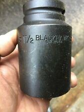 "New listing lot of 10-Sockets 1-1/2"" Impact Deep 3/4 Drive 6 Pt Blackhawk Uw-2648 (R1T)proto"