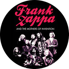 CHAPA/BADGE FRANK ZAPPA AND THE MOTHERS OF INVENTION . captain beefheart doors