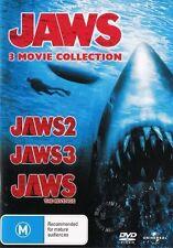 JAWS 2 3 4: THE REVENGE : NEW DVD