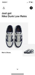 Nike Dunk Low 'Brooklyn Nets' (Size 9) -Confirmed Order- NBA 75th NEW