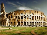 Italy Colosseum Clouds Home decor Wall Print POSTER FR