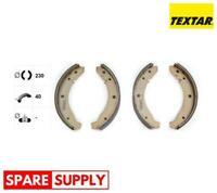 BRAKE SHOE SET FOR PORSCHE VW TEXTAR 91007800