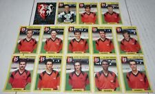 STADE RENNAIS RENNES ROAZHON EQUIPE COMPLETE PANINI FOOTBALL FOOT 92 1991-1992