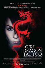 The Girl with the Dragon Tattoo Movie POSTER 27 x 40, CB,  LICENSED NEW